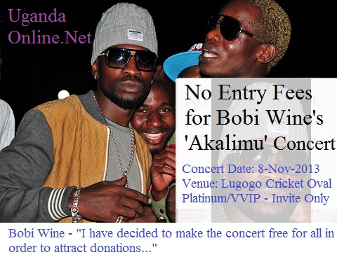 Bobi Wine's Akalimu concert is one of a kind
