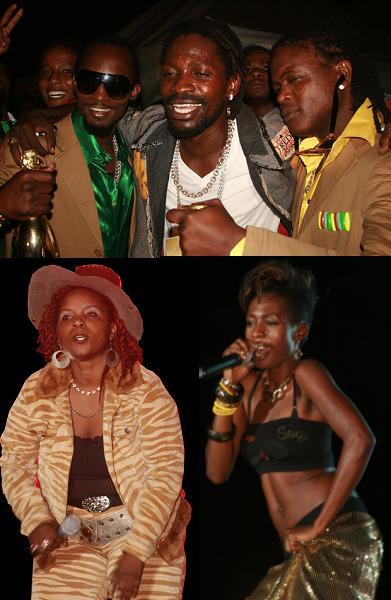 Moze, Bobi Wine, Weasel, Chance Nalubega and Cindy