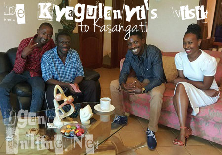 Barbie and Bobi visit FDC's Kizza Besigye
