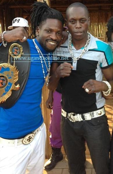 Bobi Wine and Ronald Mugula