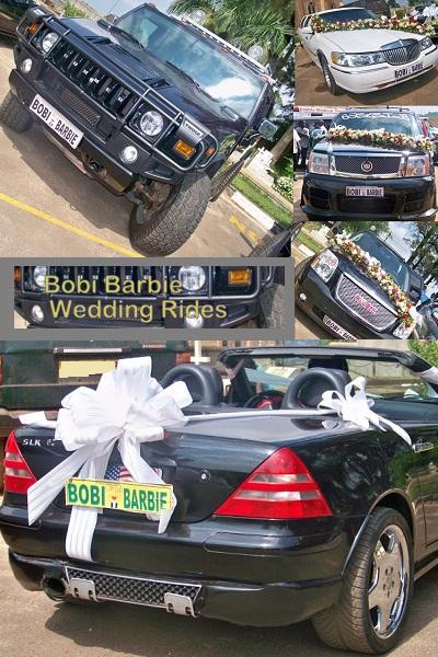 Bobi Wine Wedding Cars