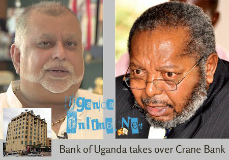 Bank of Uganda takes over Crane Bank management