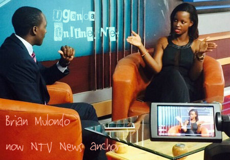 Brian Mulondo interviewing Flavia Mulondo recently