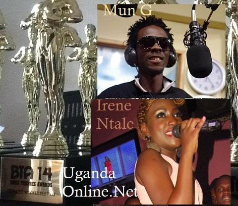 Irene Ntale Radio and Weasel were the op winners
