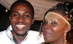 Comedian Bugingo and Wife