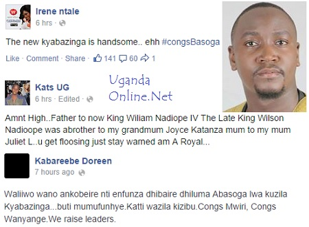 Interesting developments after Nadiope being enthroned as the Kyabazinga