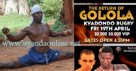 Golola is back in the ring