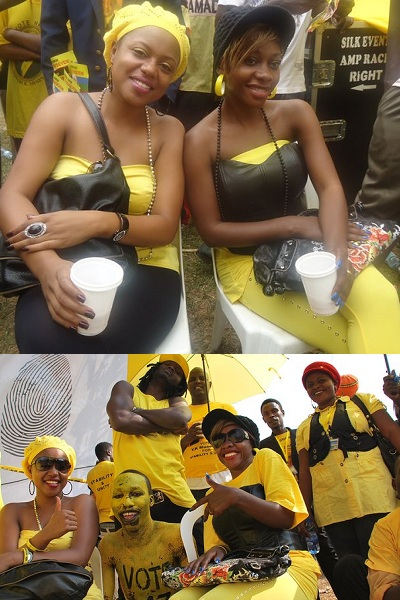 Zuena and Bad Black at Kololo
