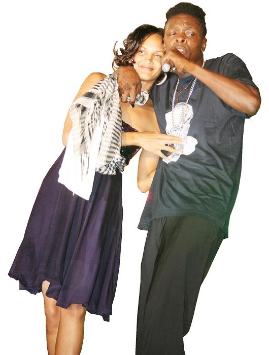 Daniella Atim and Jose Chameleone