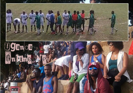 The fans at Kabira and inset are the teams