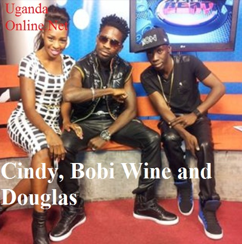 Cindy, Bobi Wine join Douglas to premiere their video