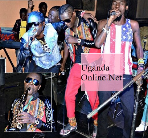 Weasel, Chameleone and Radio during the Club Silk Unplugged