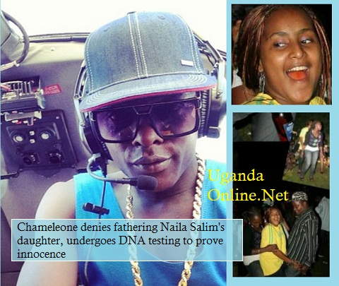 Chameleone denies fathering Naila Salim's daughter, undergoes DNA testing to prove innocence.