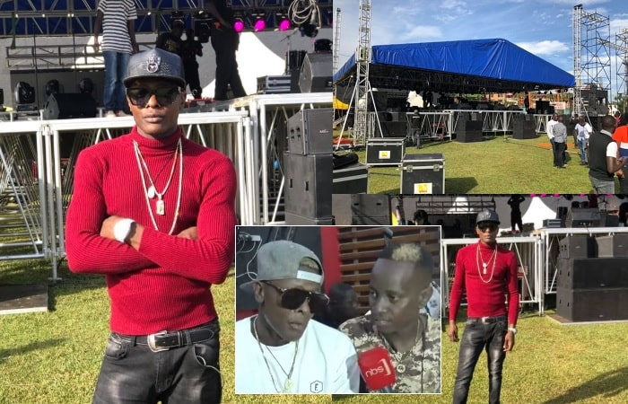Chameleone is all set for his fans at Lugogo Cricket Oval