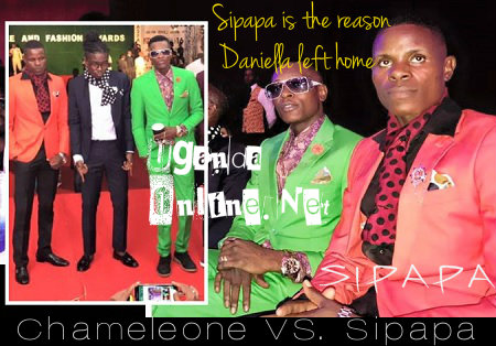 Chameleone has fallen out with long time buddy over Daniella