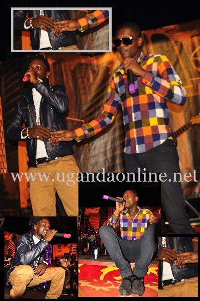 Bobi Wine and Chameleone at Labonita