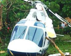 The Austin 911 Chopper that crashed in Bugiri with the Prime Minister on Board