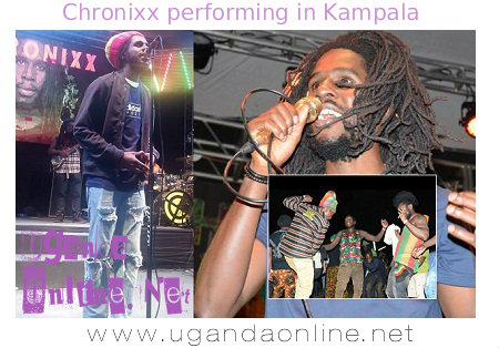 Chronixx doing his thing at Ndere centre