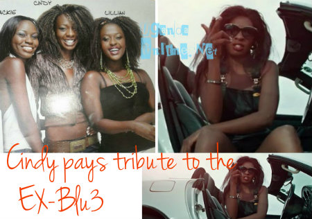 Cindy pays tribute to the ex-Blu3 members