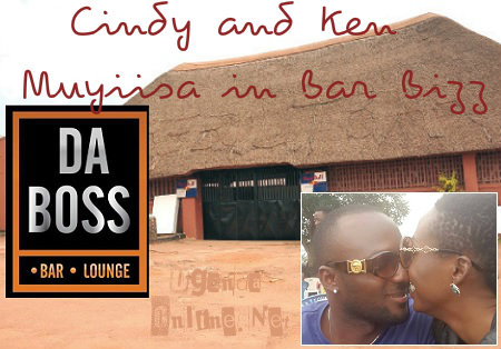 Cindy and Ken Muyiisa in bar business