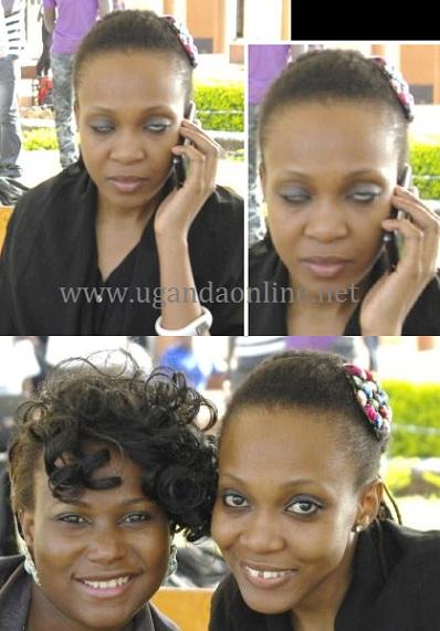 Brenda Nambi and Cleopatra Koheirwe