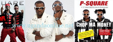 Nigeria's P-Square to perform live in Kampala