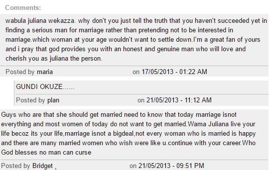 Uganda Online Comments