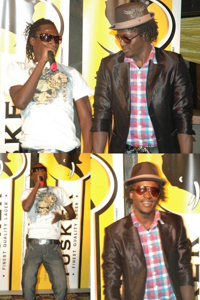 Coco Finger and Davis Ntare