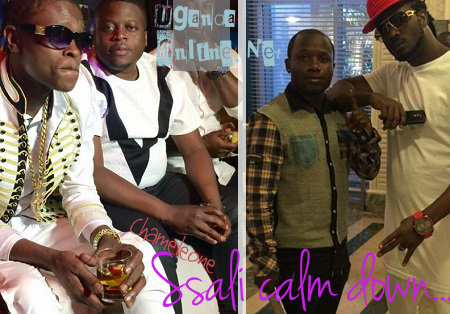Chameleone and Bebe Cool in South Africa