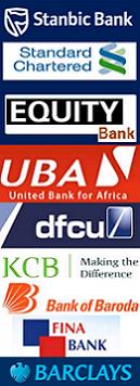 Some of the Commercial Banks in Uganda