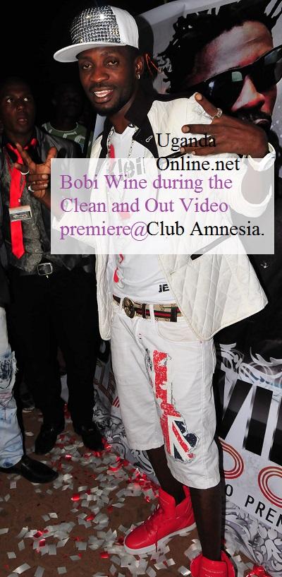 Bobi Wine at Club Amnesia