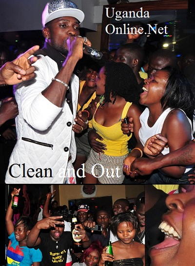 Bobi Wine Cleaning them out at Amnesia