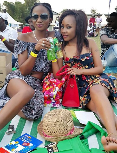 Cute babes at the Blankets and Wine - 12th edition