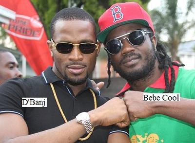 D'Banj and Bebe Cool
