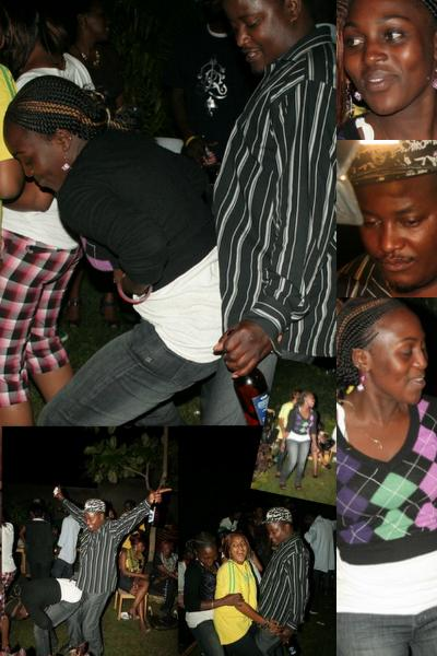Dancing Couple at Abba's Birthday