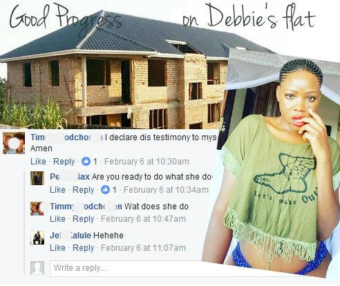 Good progress on Debbie's flat