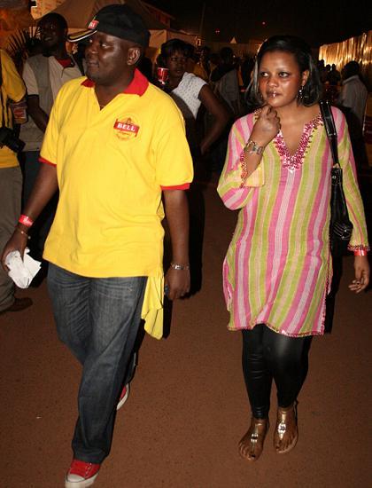 Dennis Mawanda and Babe