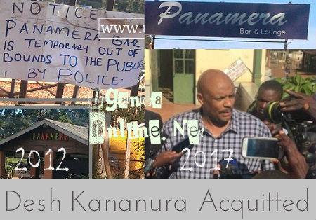 Desh Kananura acquitted
