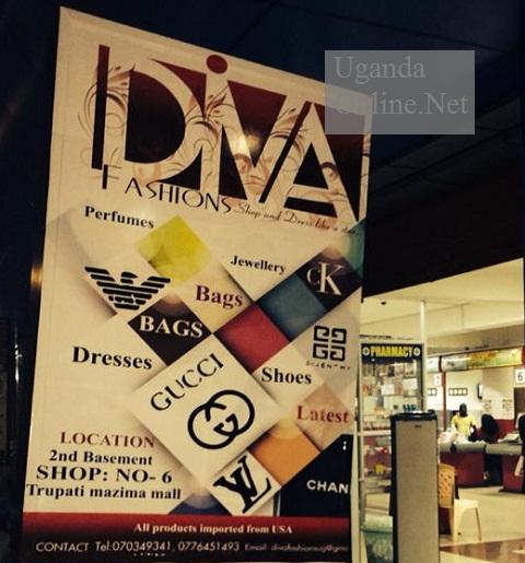 Duiva fashions by Miss Uganda 2004, Barbara Kimbugwe