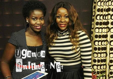 NTV's Faridah Nakazibwe and Desire Luzinda