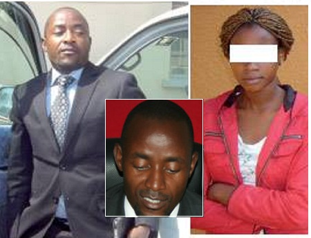 David Katumwa and the girl he allegedly defiled