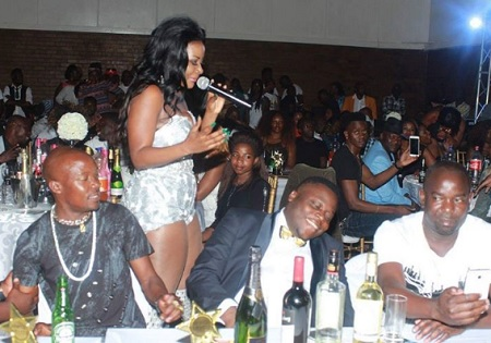 All eyes were on Zari's ex, Ivan Semwanga