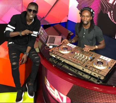 Douglas Lwanga and DJ Bryan