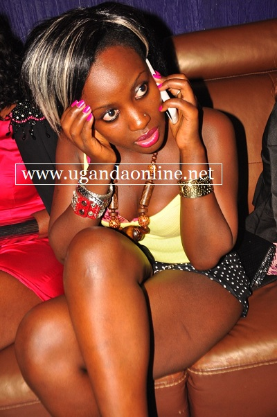 Leila Kayondo seems to tell a friend that the BD gal is in the house