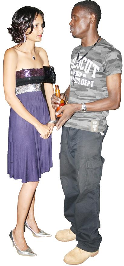 Daniella and Chameleone's young brother