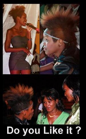 Rachael K's Hairstyle