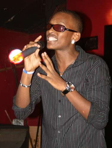Tonix Performing at Club Rouge during the launch of the EATV Uganda Central Launch Programme