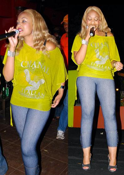 Zari performing at Cayenne Club