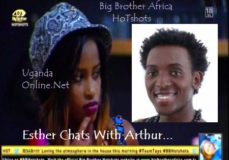 Arthur reveals his Ugandan roots to Esther