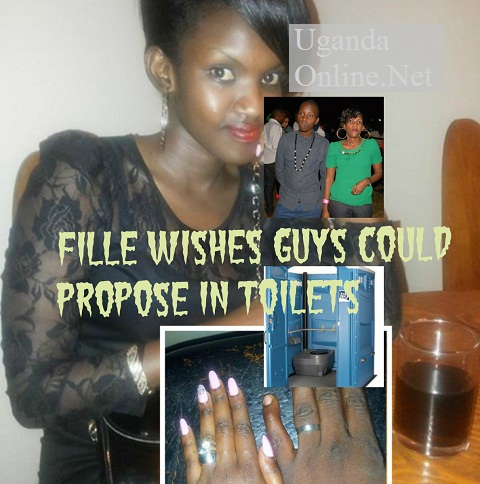 Fille wishes guys could propose in toilets